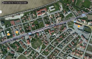 mappa via postumia centro